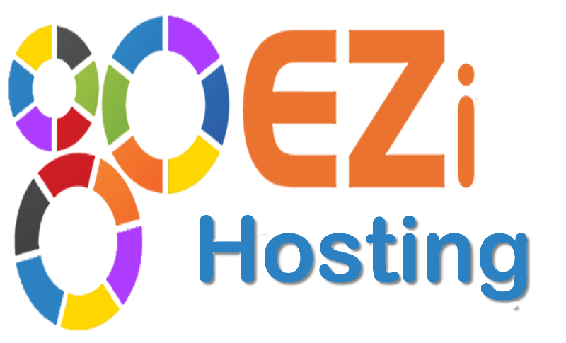 This shows the EZi.Gold hosting logo: A recommended hosting provider.