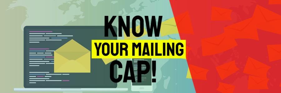 Illustration shows; Shared Hosting Email Sending Limit