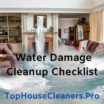 water-damage-cleanup-checklist