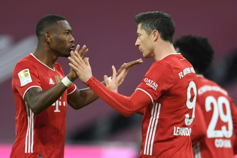 Bayern unlikely to release Lewandowski, Alaba for qualifiers