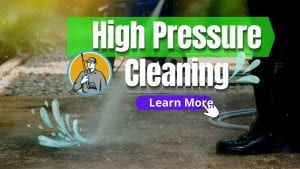 Benefits of High Pressure Cleaning