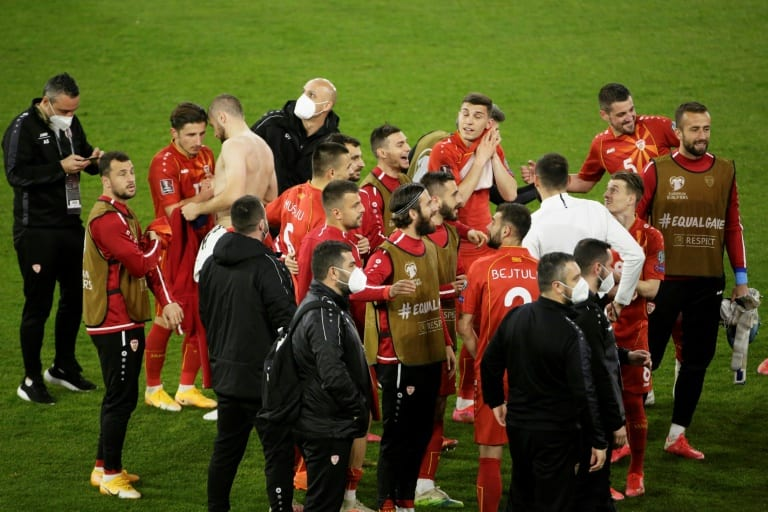 North Macedonia hails 'Miracle of Duisburg' after Germany win