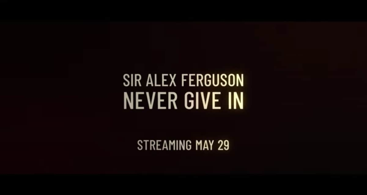 Sir Alex Ferguson documentary to debut on Paramount+ May 29th